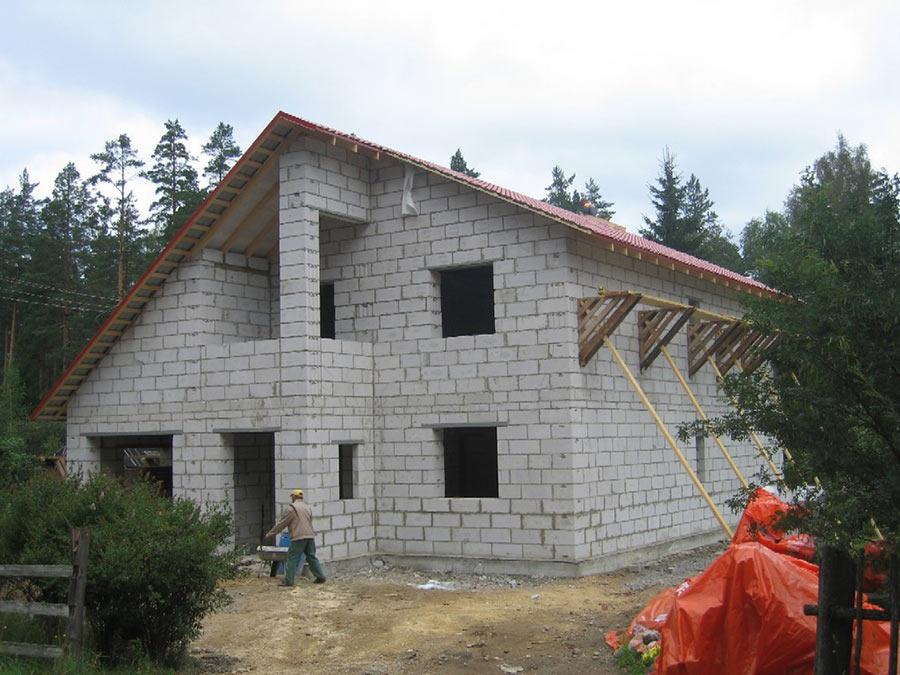Построить фундамент под дом цена в Мытищах