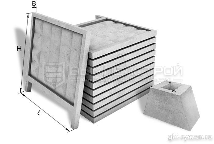 Купить забор из бетона в рязани 2 гис бетон